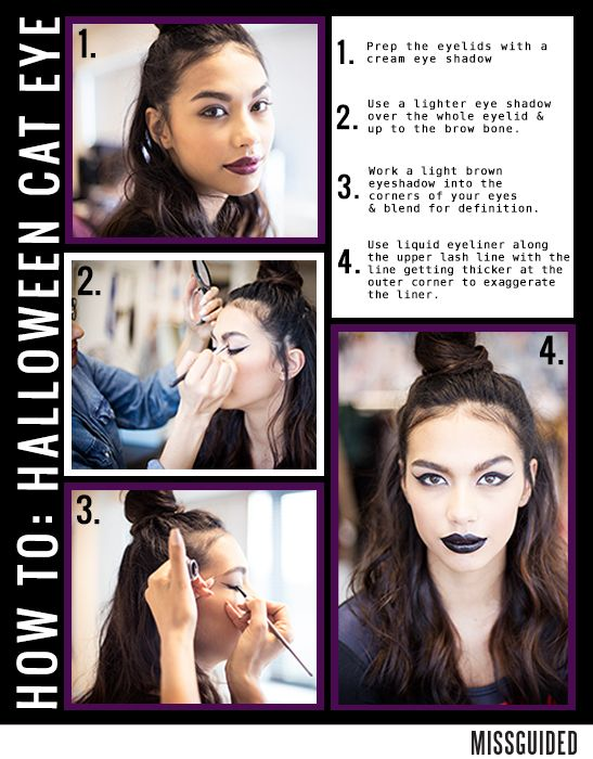 Get the perfect Halloween cat eye