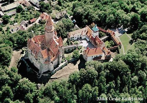 The woodland at Litovel is over looked by the Romantic castle Bouzov. The castle was built around the beginning of the 14th century, with the first known owner from 1317.