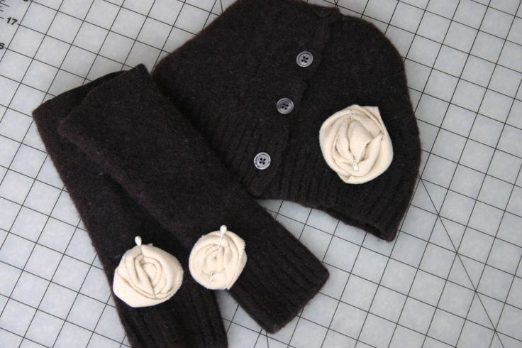 DIY Hat and Wrist - Arm Warmers