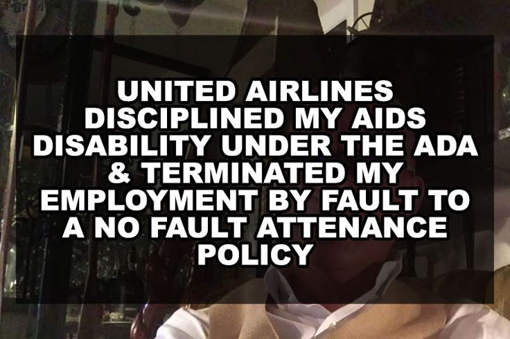 "The following submission is from a John Michael Perry. If you are interested in submitting your own story please contact us via queerdeermedia.com Individuals with AIDS/HIV are facing New Challenges with Company ""No Fault"" Attendance Policies. This YouTube Video Shines a Light on the United Airlines No Fault Attendance Policy, that Terminated a Flight Attendant...Read More »"