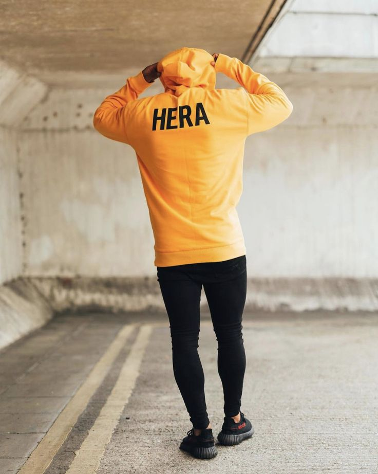 Be bold. #hera #heralondon #streetstyle #streetwear #menswear #denim #yellow