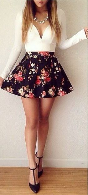 Floral Dress ❤︎