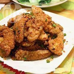 Chinees gekruid gebakken varkensvlees