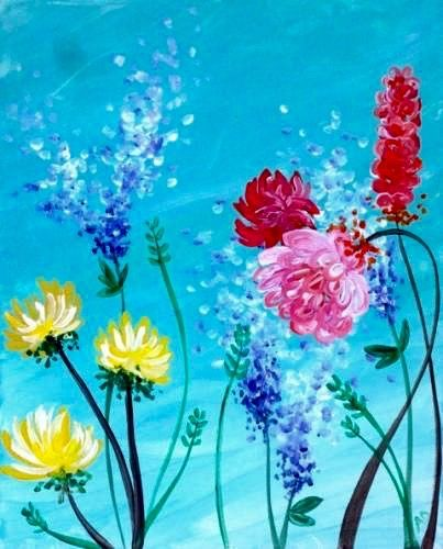Pretty flower pictures to paint wallsmiga pretty flowers 433 best paint 4 images on paintings acrylic mightylinksfo