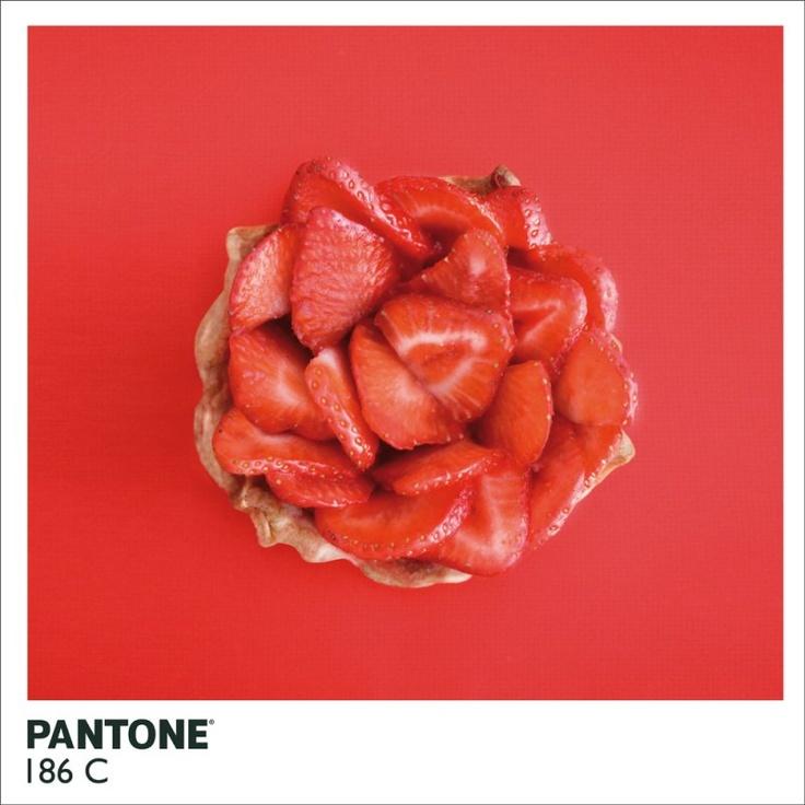 Strawberry Tart : Pantone 186 C