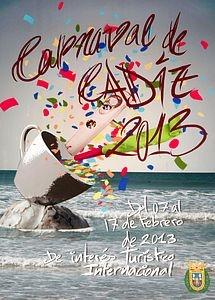 Cartel del Carnaval de Cadiz, del gaditano Carlos Aarón Salatti Dorado.