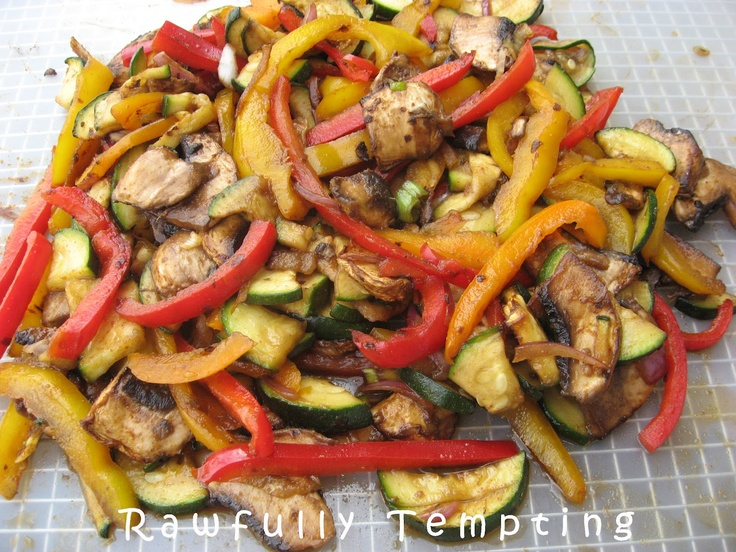 Rawfully Tempting™: Mexican Style Veggies
