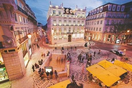 My Kind of Place: Lisbon's many talents - thenational.ae The centre of Lisbon thrives at night, including the Rua Garrett, which is filled with museums, shops, eateries and cafes. Getty Images