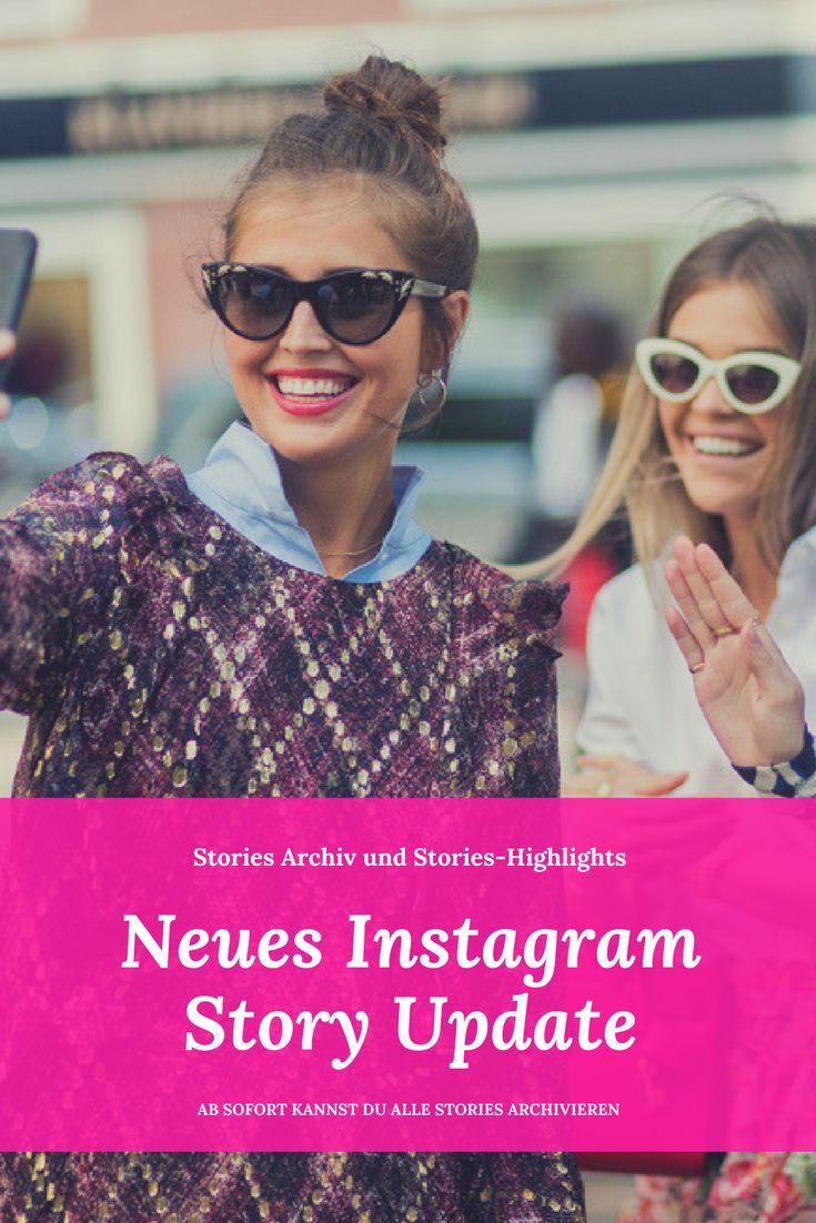 Endlich kannst du deine Instagram Stories archivieren! #instagram #iggers #instagramstories #instagramguide