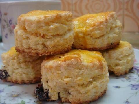 Fabulosa receta para Scones de maizena. Fabulosos scones que pertenecen al recetario original de maizena.