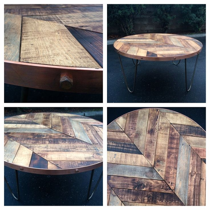 Vintage Coffee Table by Raise The Bar