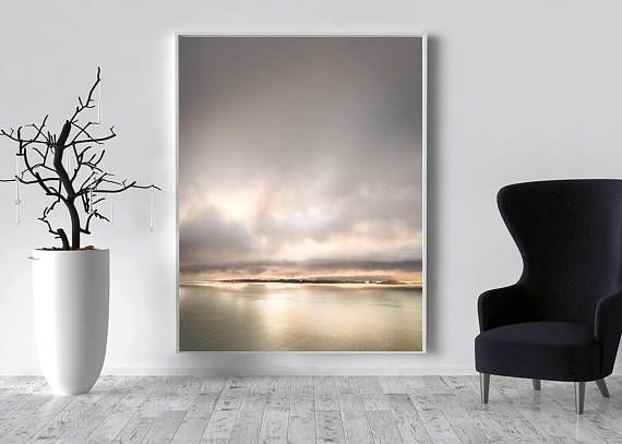 Rose Gold Abstract Canvas Large Canvas, XXL, Rose, gold, Seascape, Extra large wall art,Huge Canvas, Extra large, livingroom decor, XXL