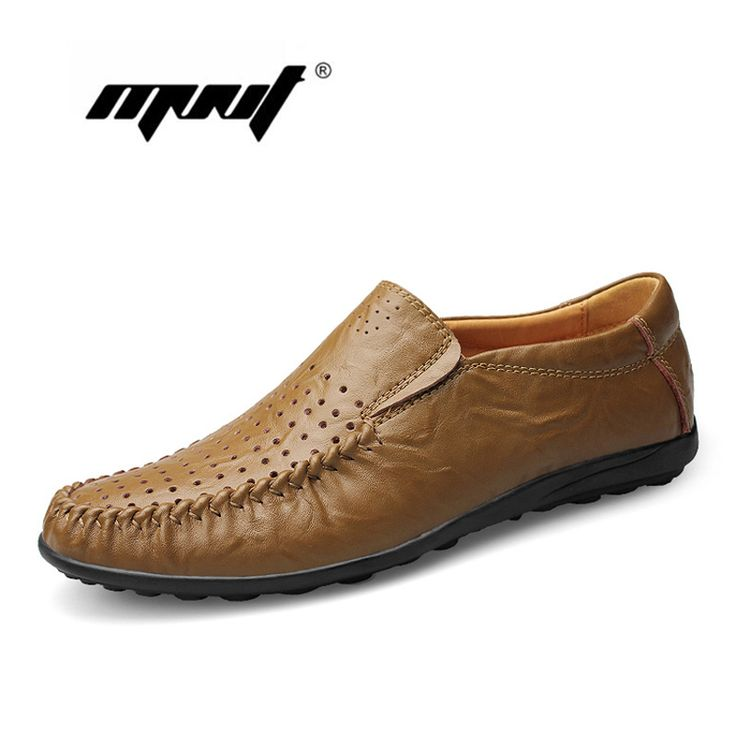 ==> [Free Shipping] Buy Best Fashion Leather Men Flats Shoes Top Quality Men Shoes New Style Design Moccasins Shoes For Men Zapatos Hombre Online with LOWEST Price | 32671495667