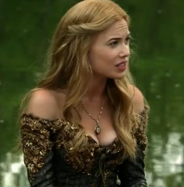Greer's hair from the show Reign. That show has the best hair and accessories.