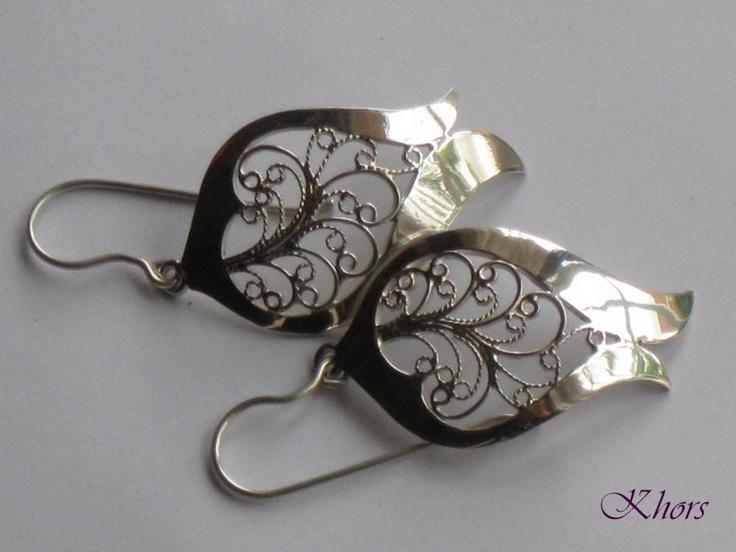 Pendientes Plata Laud  Silver Earrings Laud