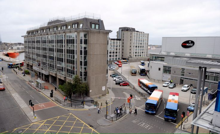 Aberdeen Bus Station. Opened in 2008.