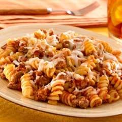 Skillet Pasta & Beef Dinner: Grill Pastries, Pasta Beef, Beef Dinner Recipes, Food, Beef Dinners Recipe, Minute Ago, Pasta Sauces, 10 Minute, Pasta Amp