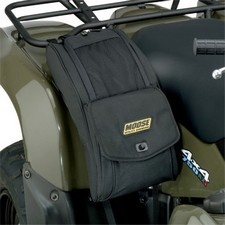 MOOSE EXPEDITION FENDER BAGS Quality cargo bag with riveted straps and carrying handle adds true functionality to your ATVForm-fitted bag mounts easily to your ATVs rack and fenders - with or without rack bags