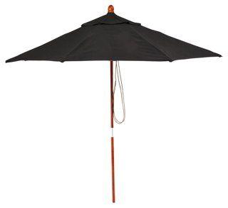 Sunbrella Patio Umbrella, Black