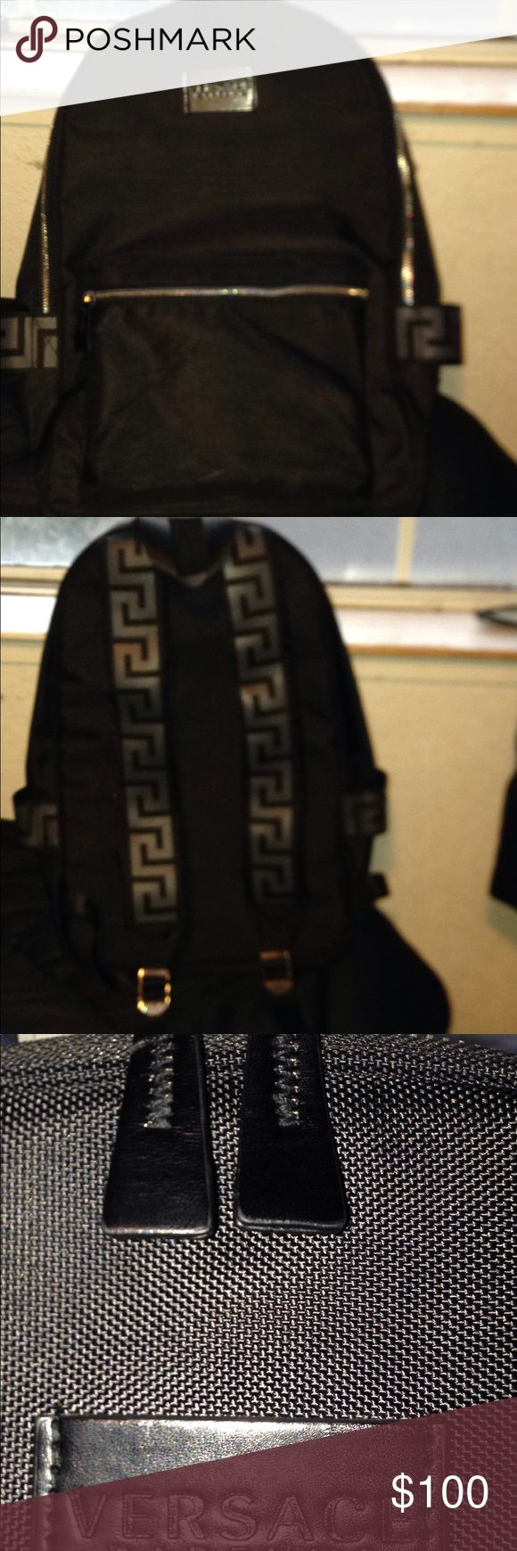Versace Backpack In good condition I bought it from Versace store online Versace Bags Backpacks