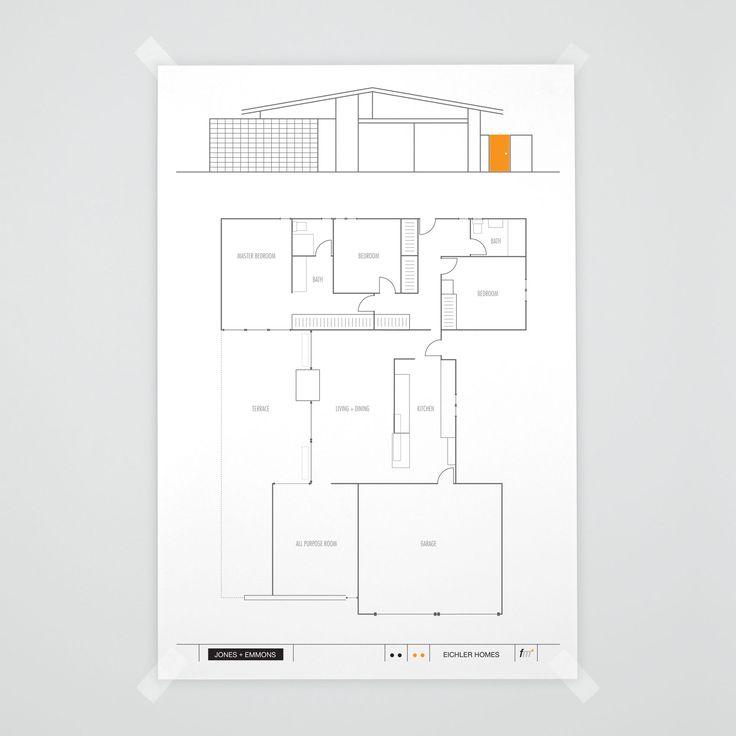 27 best eichler floorplans images on pinterest floor plans je 85 model eichler floorplanjones emmons fogmodern malvernweather Image collections