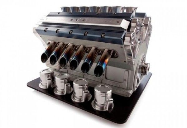 This Coffee Maker is Made From an Actual Race Car Engine -