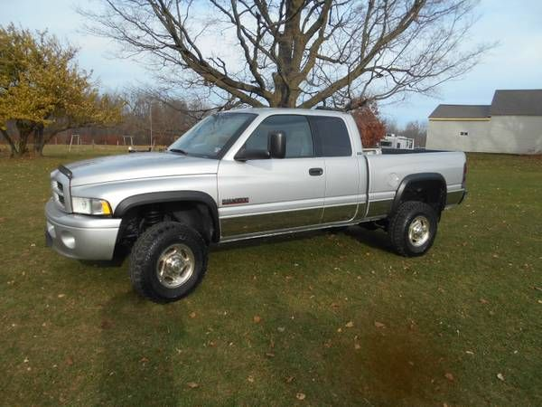 2002 DODGE RAM SPORT CUMMINS TURBO DIESEL 79000 MILES 6 SPEED MANUAL (POTSDAM NY) $17000: QR Code Link to This Post UP FOR SALE 2002 DODGE…