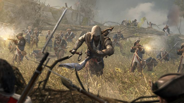 Assassin's Creed 3 Video Game Images