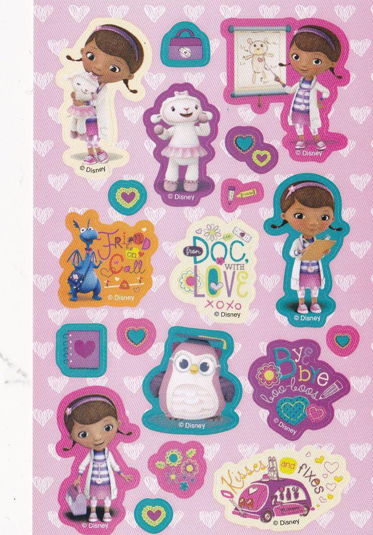 Doc McStuffins stickers til børn