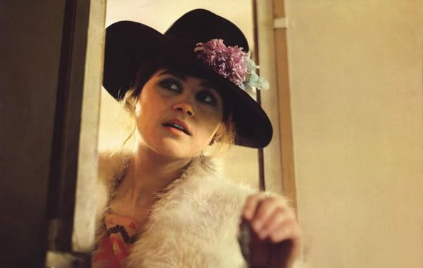 """Maria Schneider. (""""Last Tango in Paris,"""" 1972.)"""