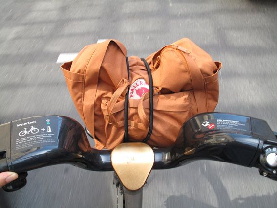 My Fjallraven kanken out in montreal 2011