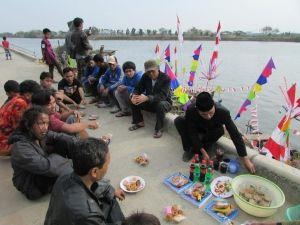 Dokumentasi Catatan Abdul Aziz: Pentingnya Nyadran Bagi Masyarakat Nelayan Marunda...