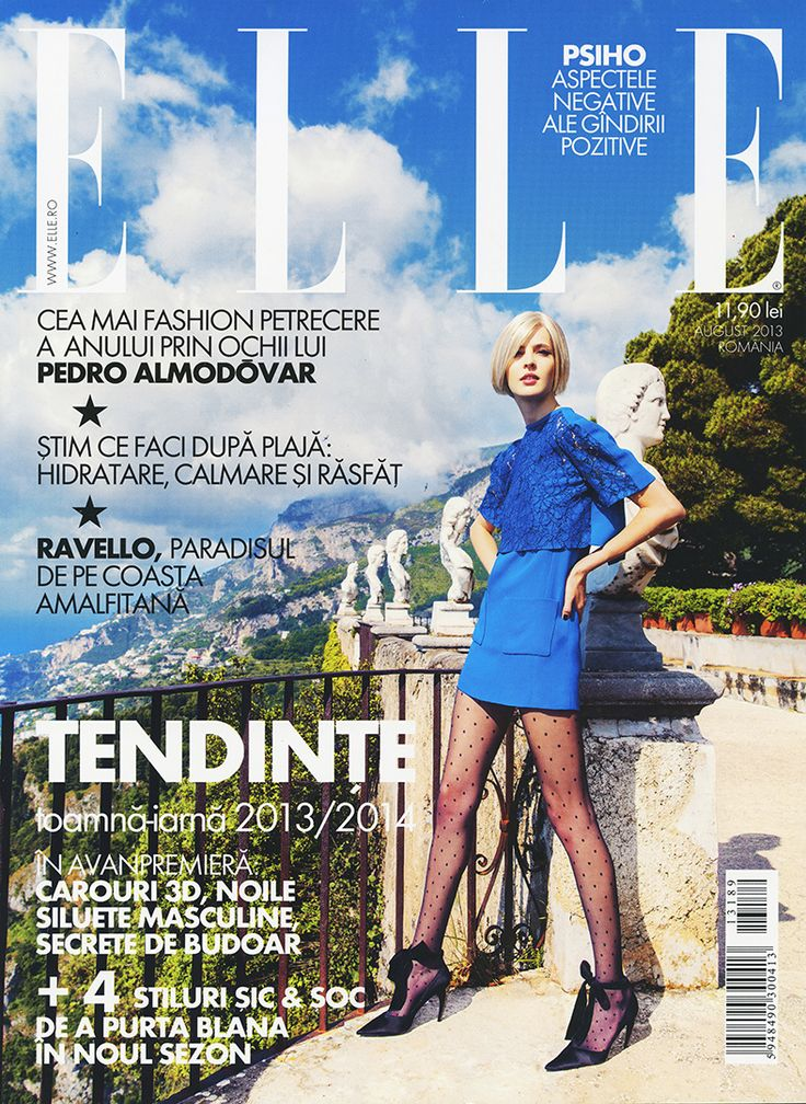 Gala UAD 2013 - ELLE Magazine (August 2013) - 1/4 * magazine cover photos are not my work - they are here just to let you recognise quicker the number if you are interested to search for it