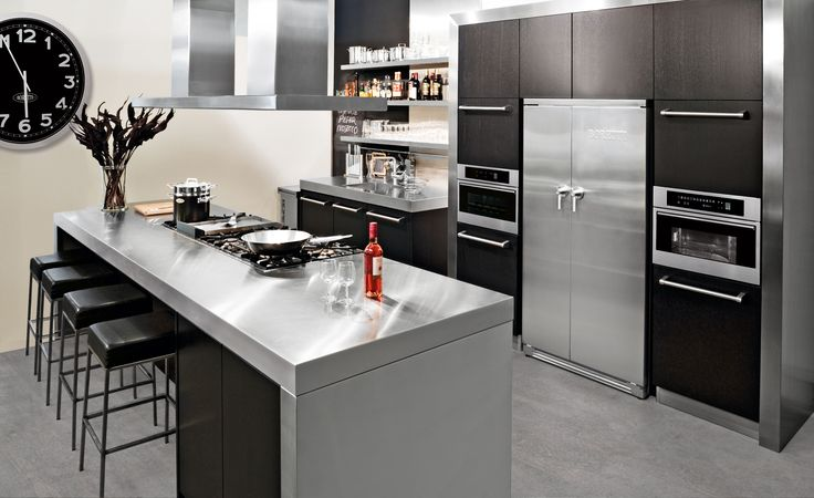 19 best images about boretti keukenapparatuur on pinterest 45 ovens and an - Moderne amerikaanse keuken ...