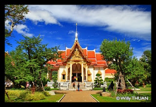 Wat Chalong, the most visited temple of Phuket.   http://phuket101.net/2011/01/wat-chalong.html