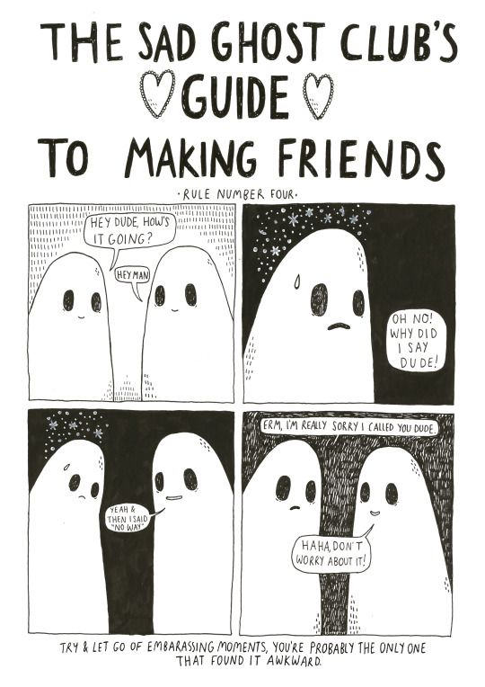 10 best The Sad Ghost Club's Guide to Making Friends