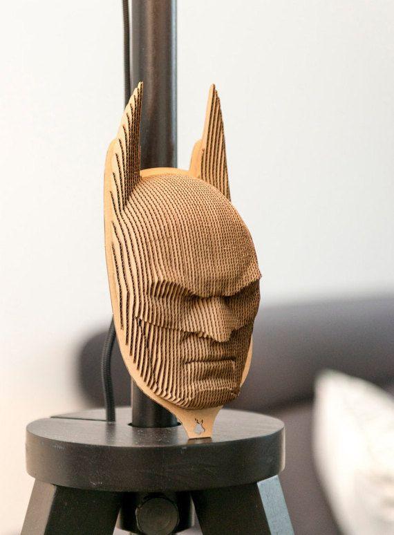 Batman - cardboard head