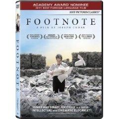 Footnote, Hebrew, 2012