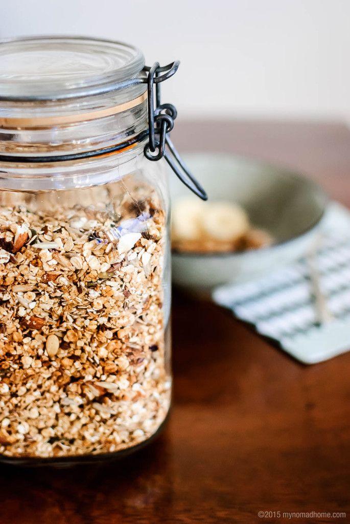 Home-made granola