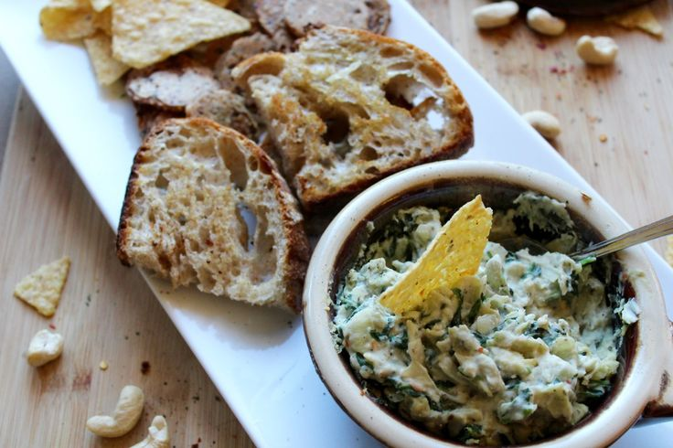 Hot Spinach, Artichoke and White Bean Dip