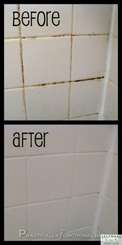 25+ beste ideeën over Badkamer voegen schoonmaken op Pinterest ...