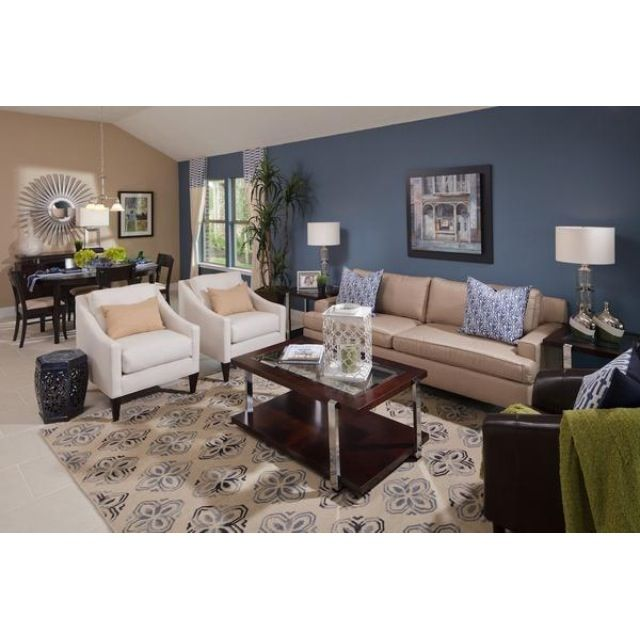 Model Home Decor living room