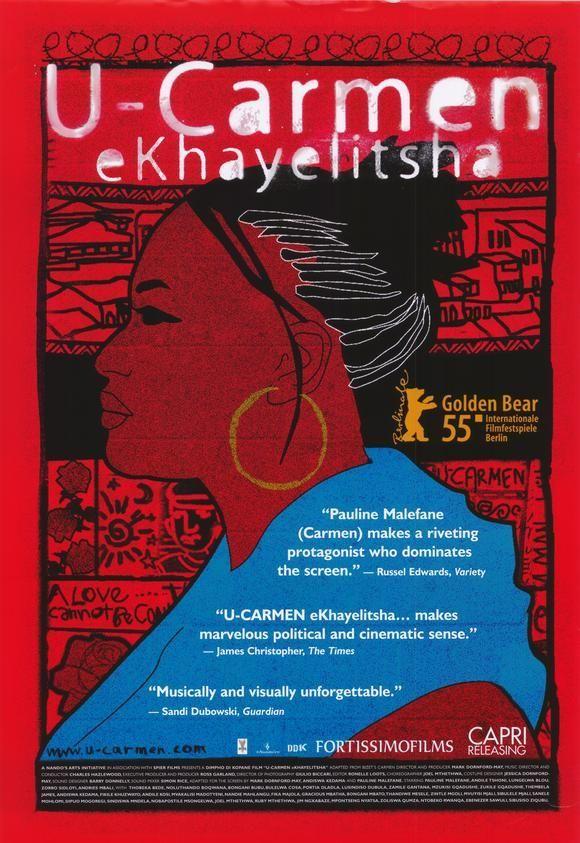 U-Carmen e-Khayelitsha (2005) Sudáfrica. Dir: Mark Donford May. Drama. Musical. Romance. Feminismo - DVD CINE 2384