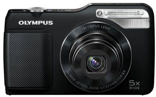 Olympus VG-170 Digital Camera – Black (14MP, 5x wide-angle optical zoom) 3 inch LCD | Suinfra
