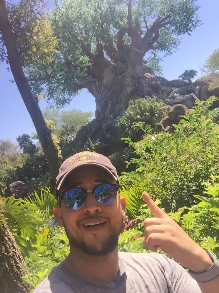 Freeform Star Tahj Mowry Had a Wild Time at Disney's Animal Kingdom