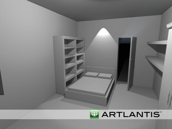Artlantis vista notte 3