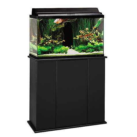 Aquatic Fundamentals Black Upright Aquarium Stand For 29 And 37 Gallon Aquariums Aquarium Stand Aquarium Petco