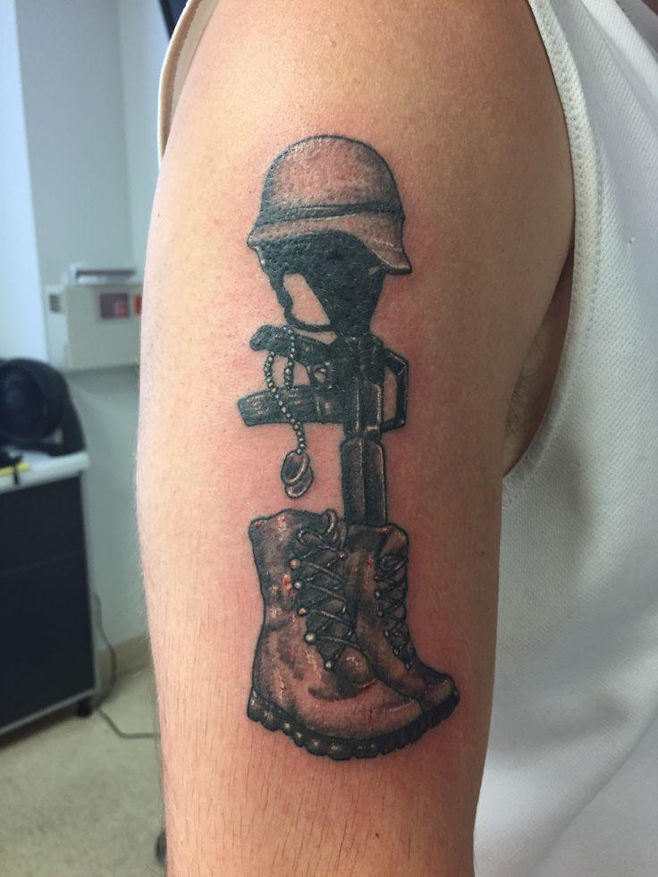 Battlefield cross | Next tattoo | Navy tattoos, Tattoos, Ink