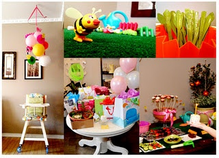 Kid's Garden Party ideas!