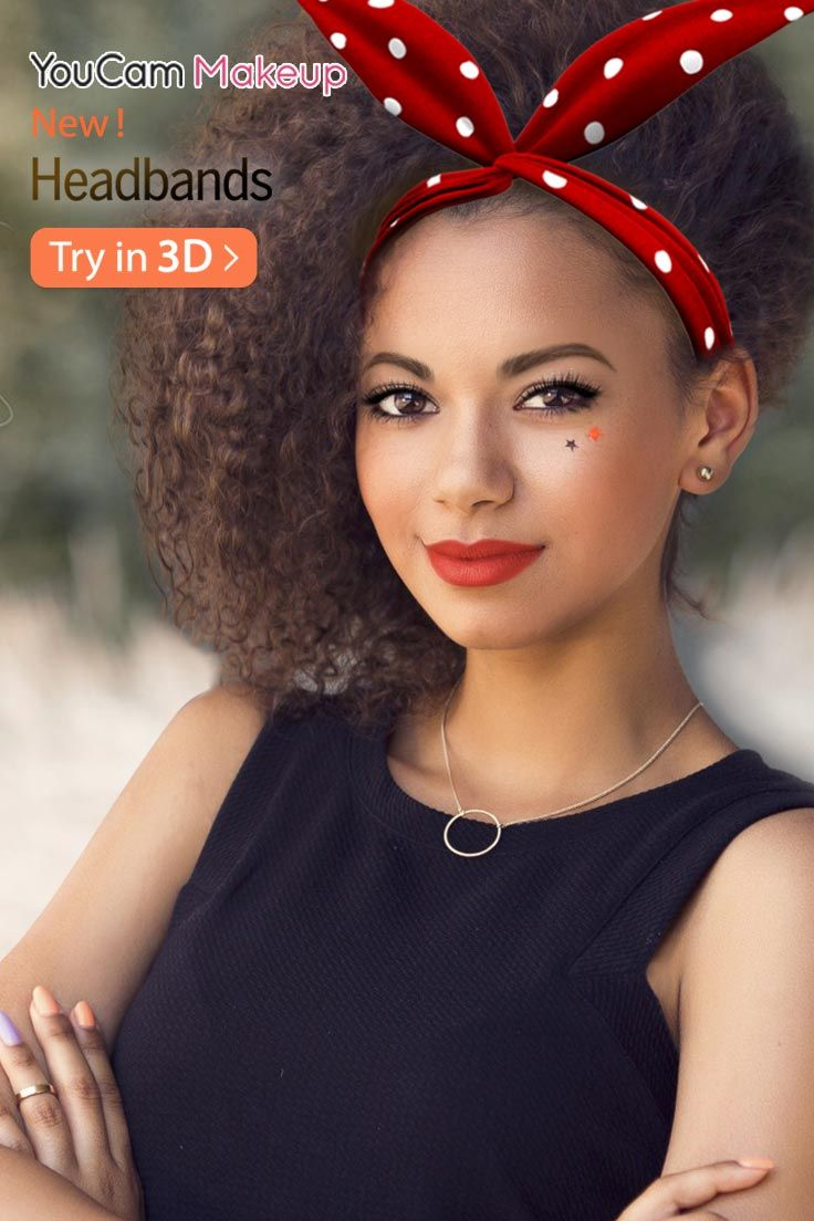 Get into Character with These Fun 3D Costume Hair Accessories NOW! Have some fun with costume-inspired headband styles that dress up your look without being completely over-the-top. Try them all on virtually in seconds and find your favorite!